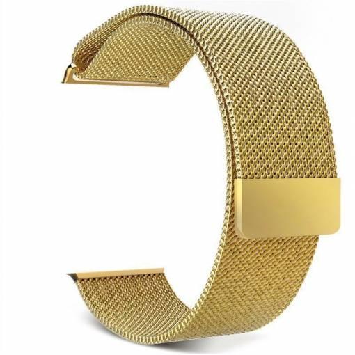 Foto - Milánský tah 38mm zlatý pro Apple Watch