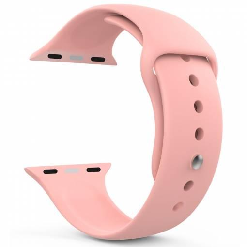 Foto - Silikonový řemínek 38mm růžový pro Apple Watch