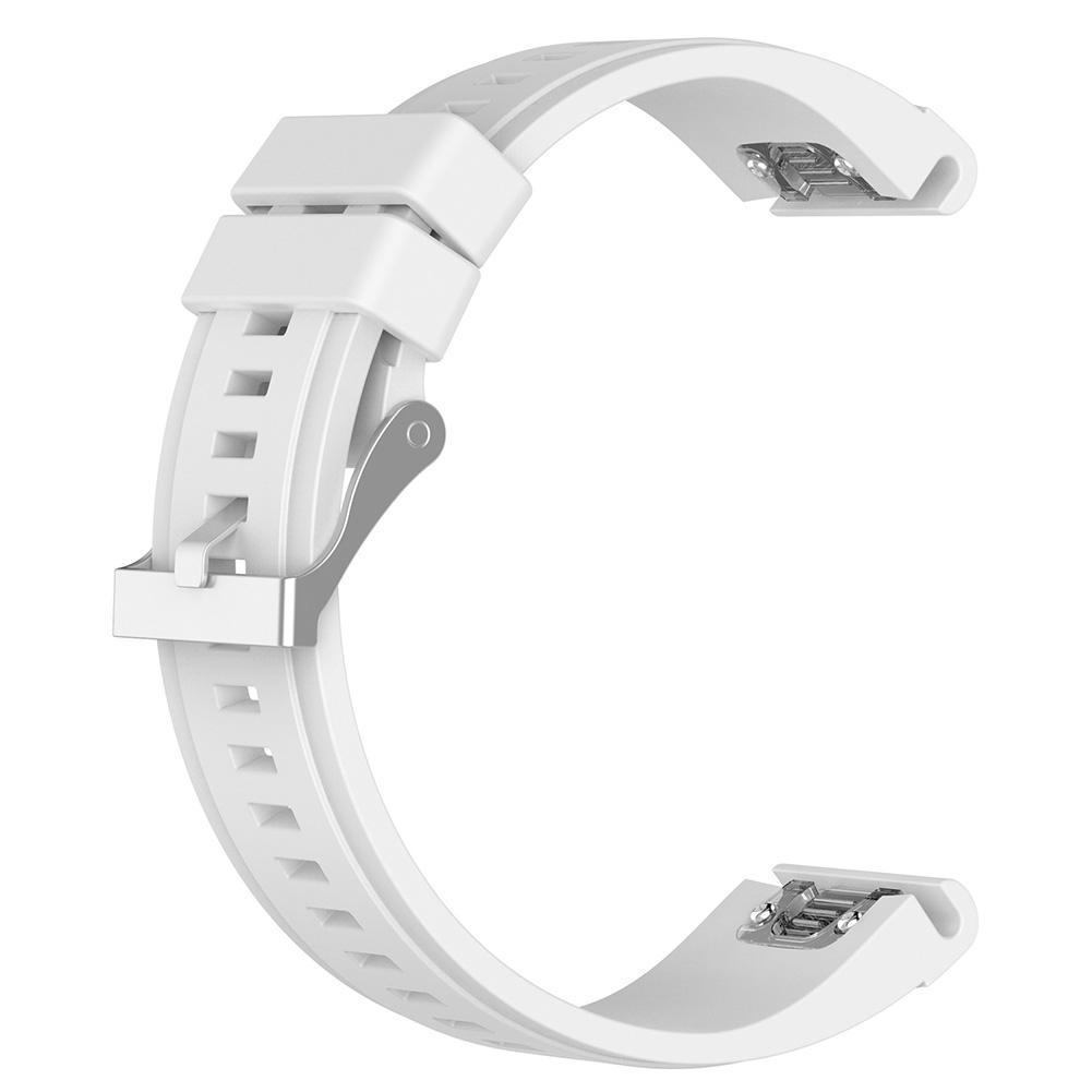 eses Silikonový řemínek bílý pro Garmin - EasyFit/QuickFit 26mm
