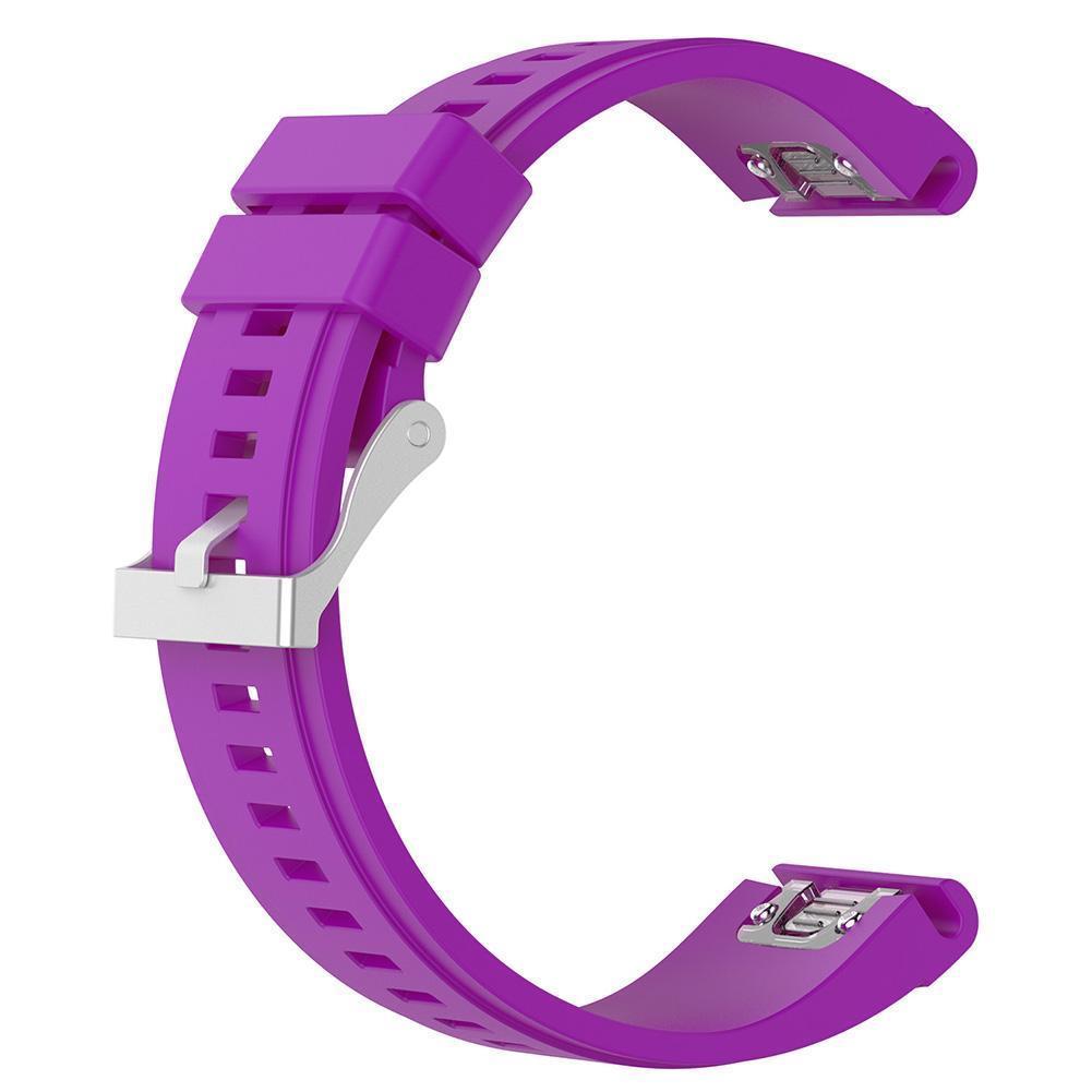 eses Silikonový řemínek fialový pro Garmin - EasyFit/QuickFit 26mm