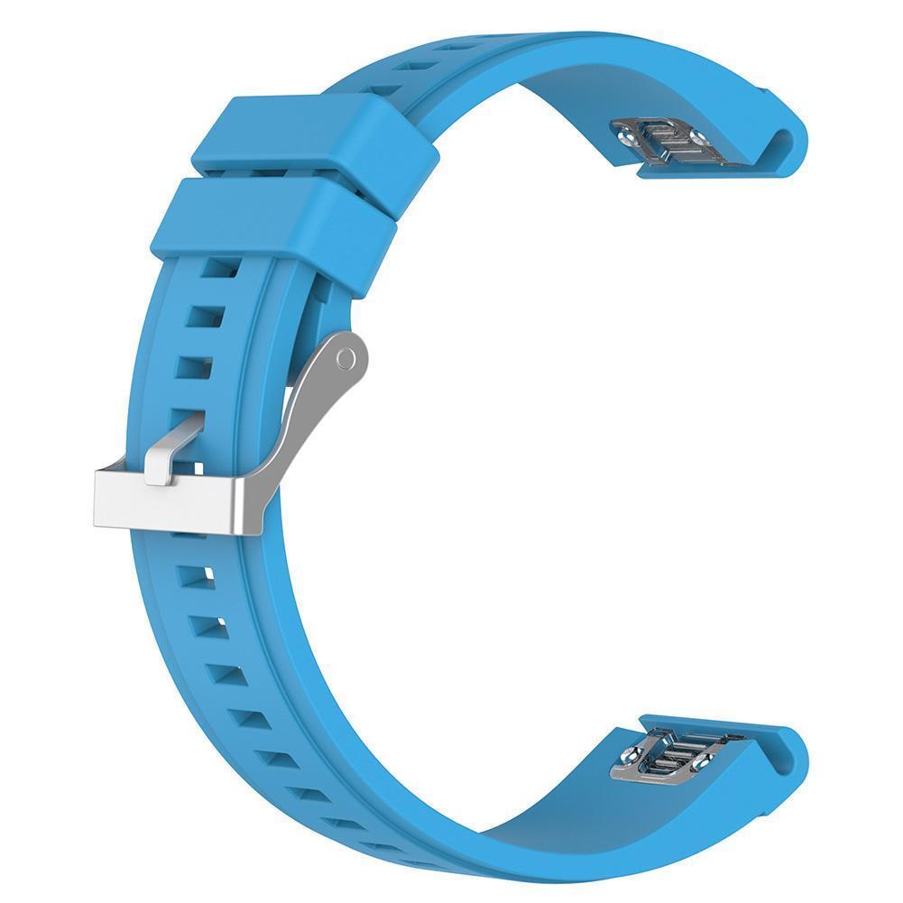 eses Silikonový řemínek modrý pro Garmin - EasyFit/QuickFit 26mm