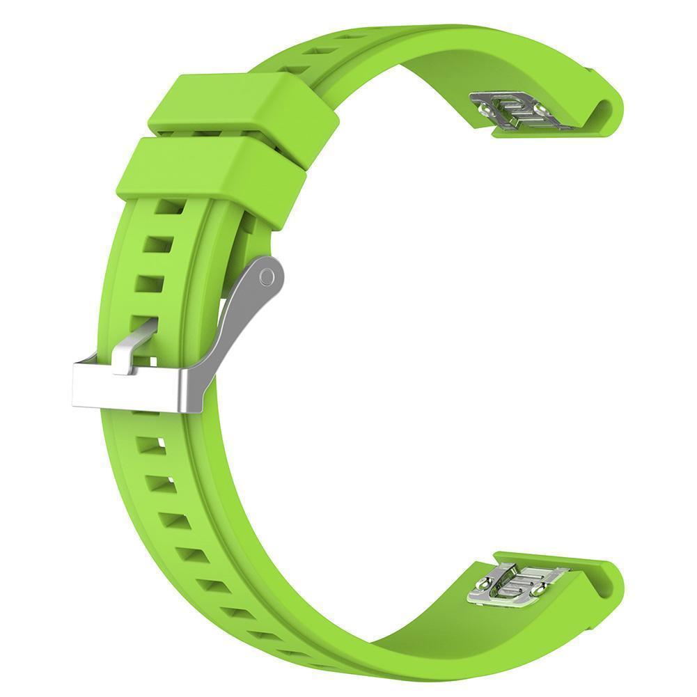 eses Silikonový řemínek zelený pro Garmin - EasyFit/QuickFit 26mm