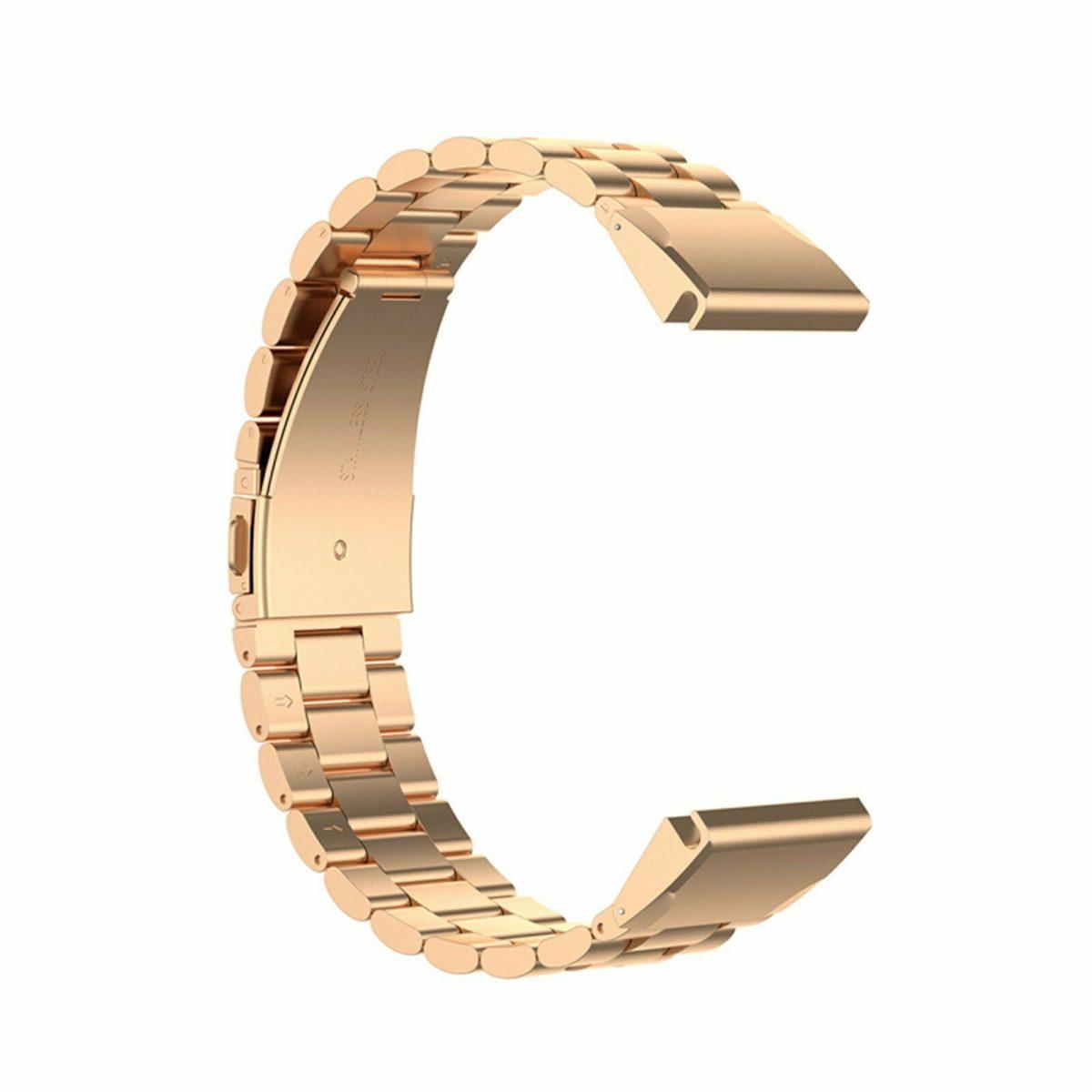 eses Kovový řemínek růžovo zlatý pro Garmin - EasyFit/QuickFit 26mm