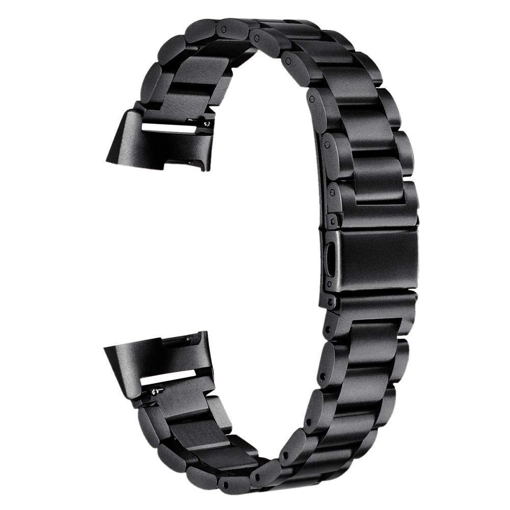 eses Kovový řemínek černý pro Fitbit Charge 3
