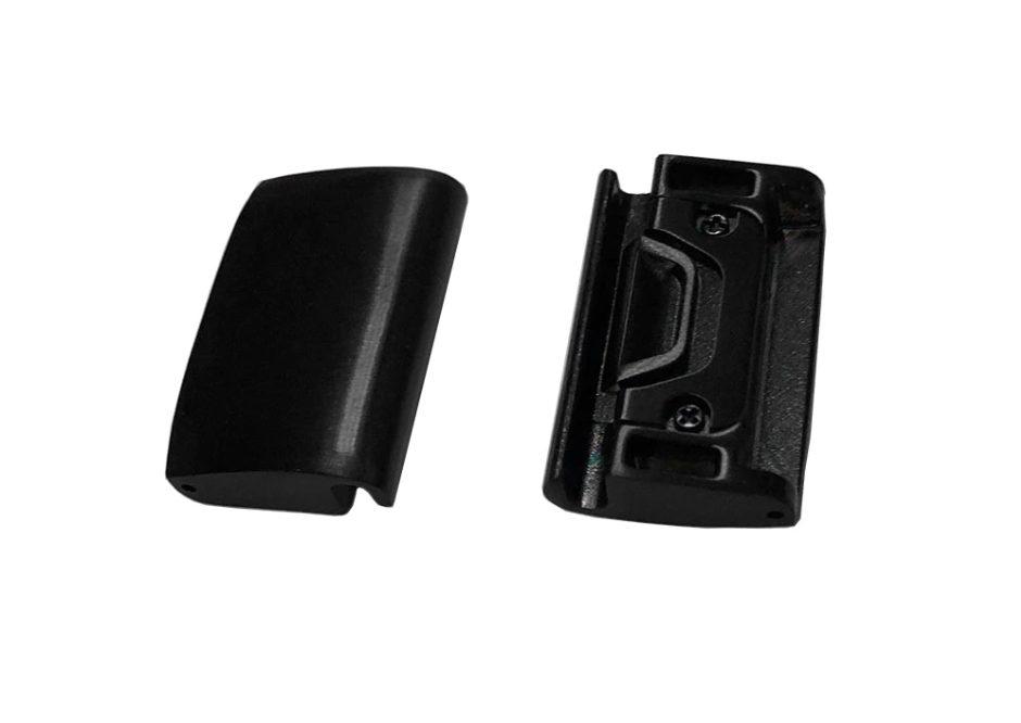 eses EasyFit/QuickFit konektor pro Garmin 20mm - černý (2ks)