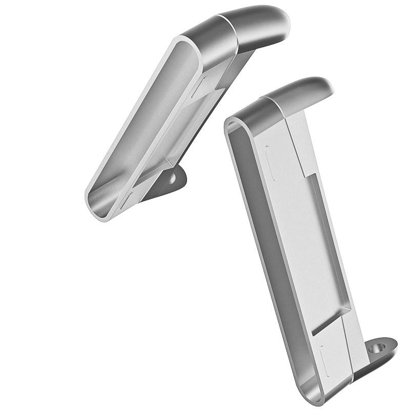 eses konektor pro Fitbit Versa 3/Sense - stříbrný (2ks)